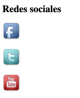 Actividad redes sociales