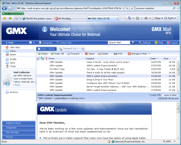 gmx-home-page