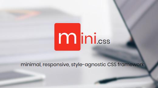 Mini CSS logo