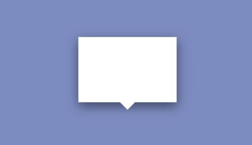 Bocadillo CSS estilo cómic con flecha y cuadrado