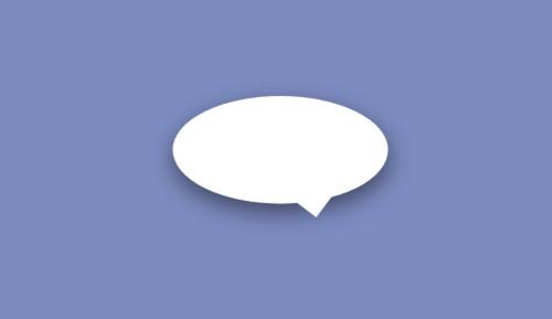 Bocadillo CSS estilo cómic con flecha y redondo