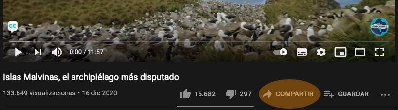 Youtube compartir