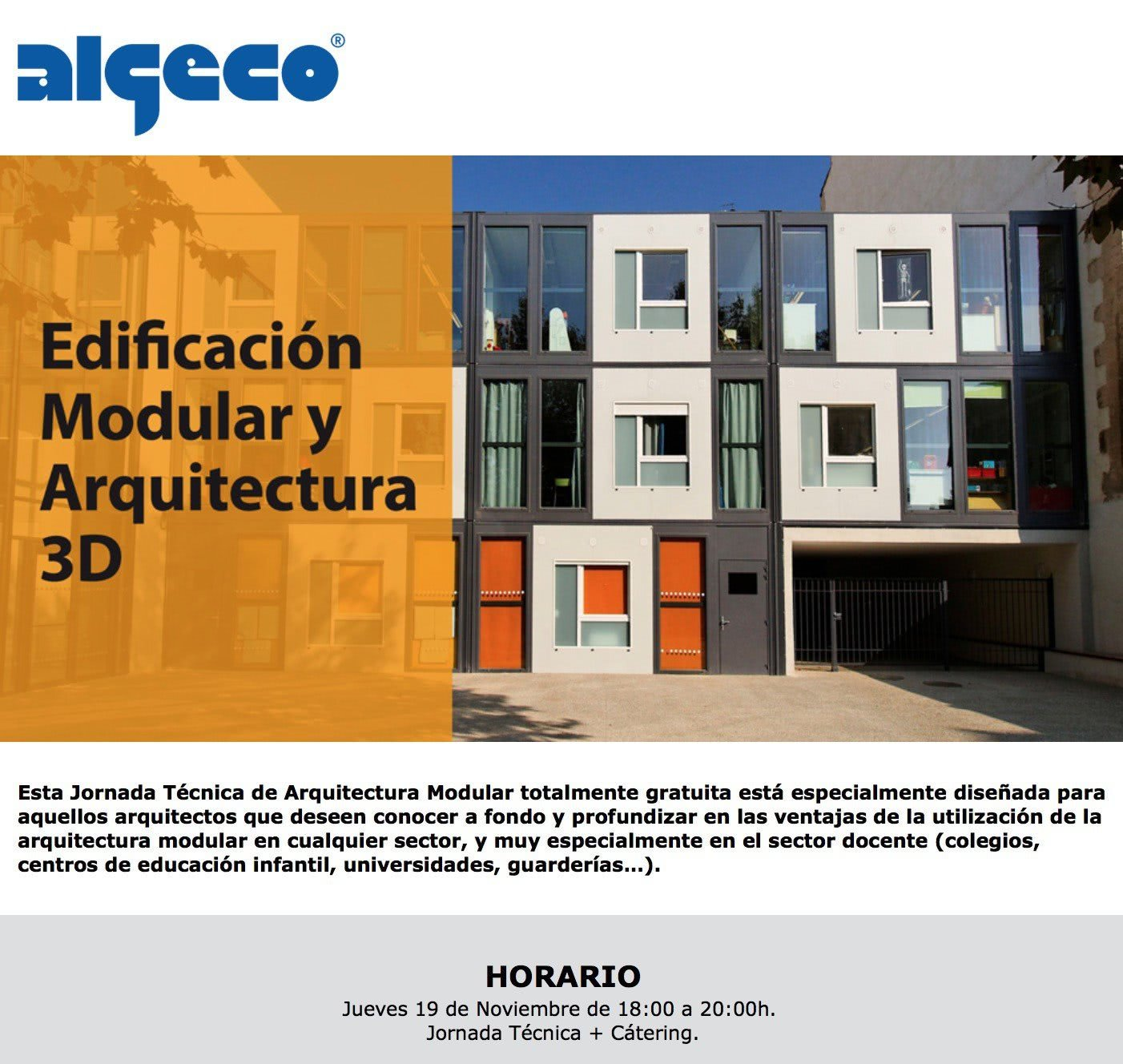 Algeco newsletter